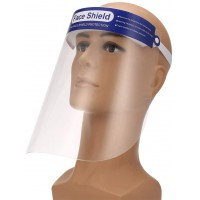 Protective Face Shield Resistant Full Face Transparent Dust-Proof Anti-Fog Visor Protection
