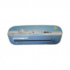 MIDEA 1.5HP ,  Kids Inverter Air Conditioner blue  - Pink (MSEABU-09HRF1)