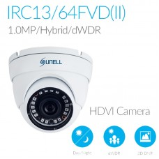 Sunell SN-IRC13/64FVD(II) 720P Hybrid Analogue Eyeball