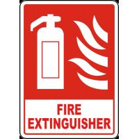 Fire Extinguisher Sign Big