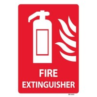 Fire Extinguisher Safety Sign-Small
