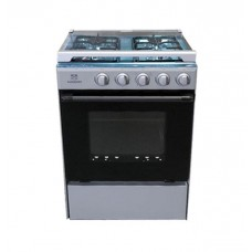 Midea 4 BURNERS gas cooker SNIPER-60-SILVER