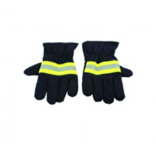 Gloves Heat Resist - Blue With Reflective Tape