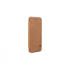 G-case Fashion Protection Shell Nano Sim Card Slot, Ejector Sim Slot And Built- In Metal Plate For IPhone 7 Plus (Brown)