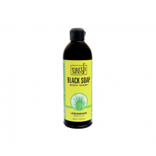 Earth Seed Black Soap Body Wash With Lemon Grass Essential Oil - 500ml