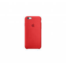 Apple IPhone 6S Silicone Case (Red)