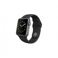 Apple Watch Strap Sports Band 38mm (Black)