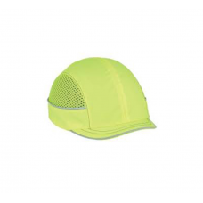 Bump Cap(lime Green With Reflector)