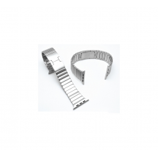 Apple Watch Strap Stainless Steel 42mm (Silver)