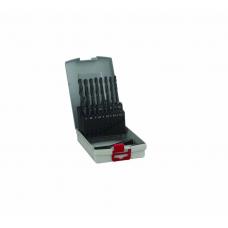 Bosch HSS Metal Twist Drill Bit Set 19-piece Bosch Cobalt DIN 338 Cylinder Shank 1 Set [2608587014]