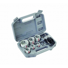 BOSCH 9 Piece Plumbers Bi-Metal Holesaw Set [2608580803]