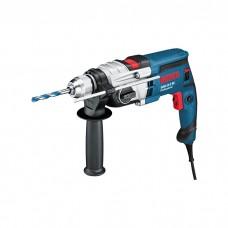 BOSCH Professional Impact Drill (GSB 19-2 RE)+14pcs Acc 060117B501